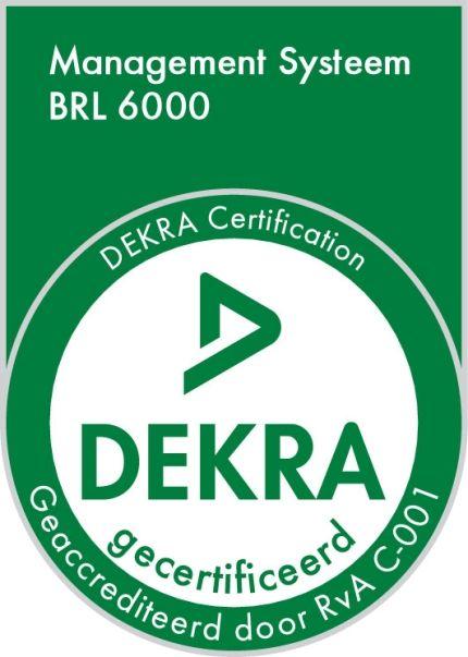 Management Systeem BRL 6000 DEKRA gecertificeerd